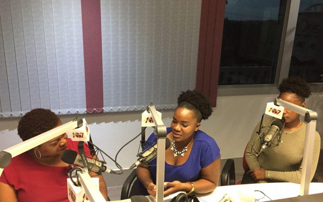 Radio interview 'Hustisia Siguridat i Abo'